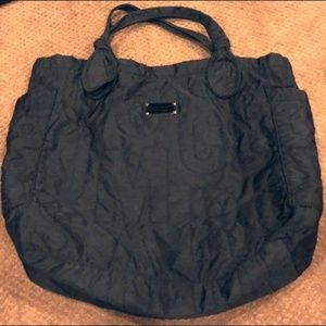 Marc by Marc Jacobs Black Nylon Large Tote Bag